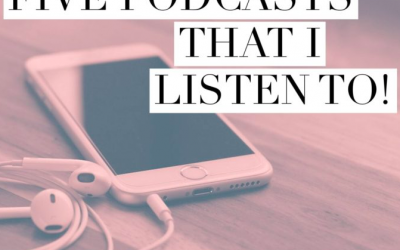 Podcasts I Listen To…Right Now