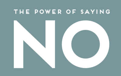 "The Power of ""No"""