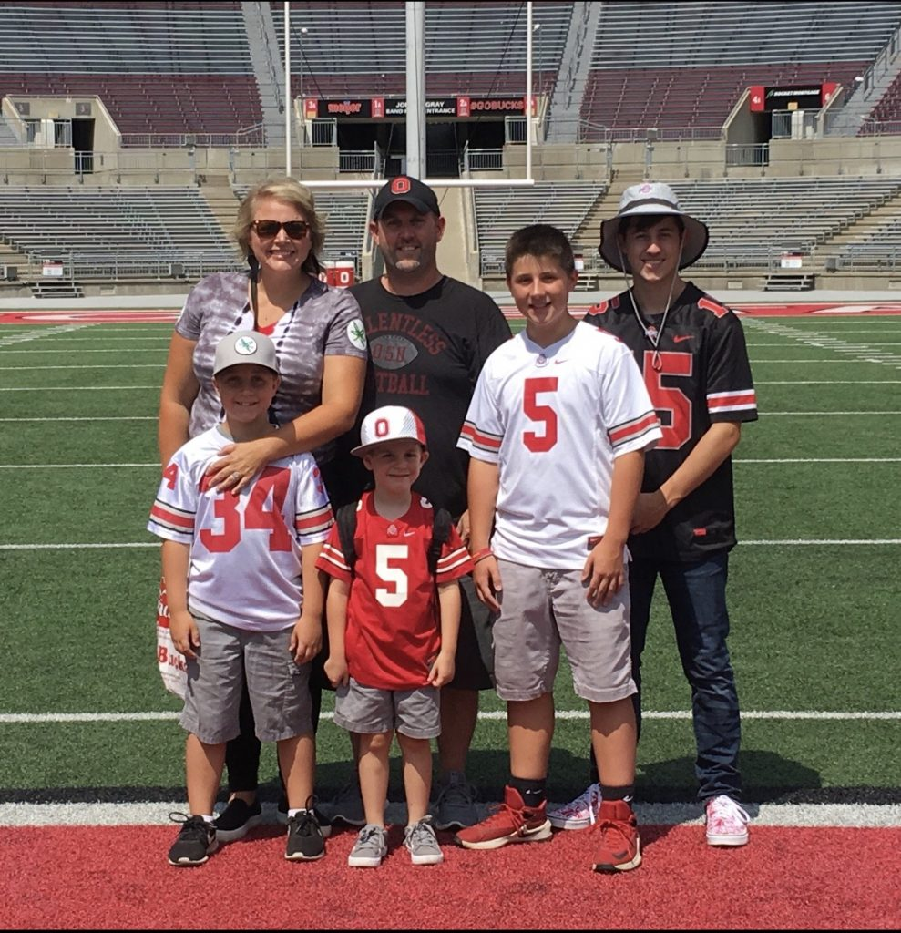 jay sabine and family